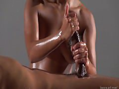 fantastic cum with oil