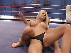 Women Wrestling - Cat Fight