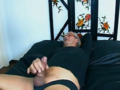 Beautiful Italian Bitch Fucks Black and White cock